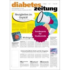 diabetes zeitung (für Studierende und Ärzte ohne Liquidationsrecht)